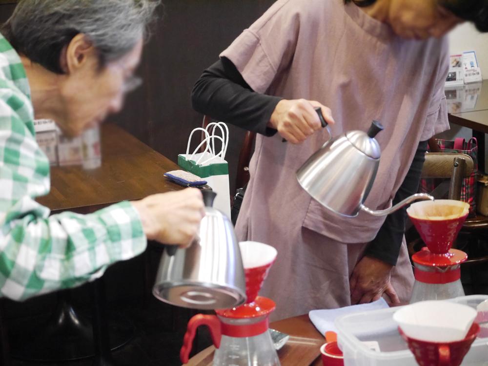うしくまちゼミ南部珈琲20191015