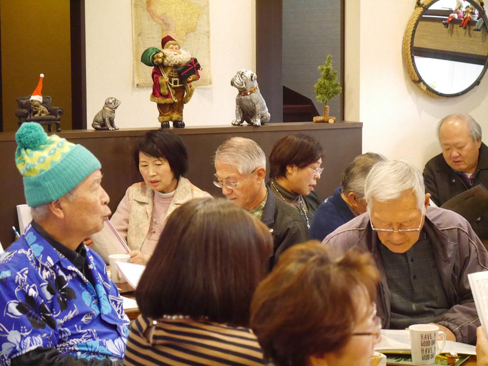 うたカフェin南部珈琲2019年12月6日