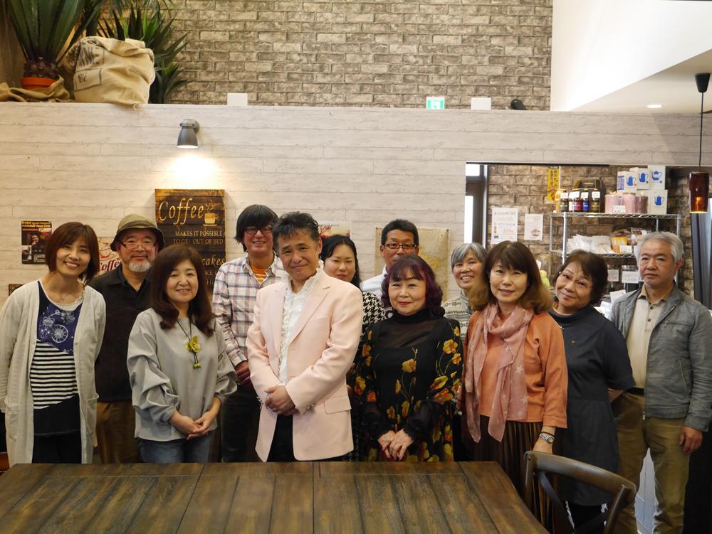 2018年4月8日深川隆成さんカフェライブ