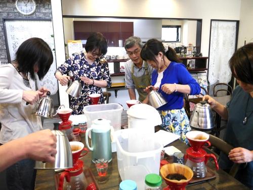 コーヒー教室2018年4月30日