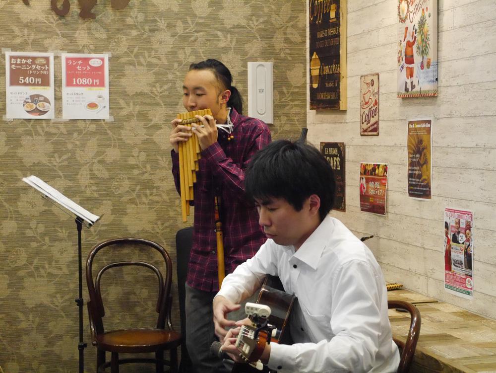 神貴尋カフェライブ20171126